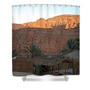 Beduin Camp in the Sinai Desert Egypt Shower Curtain by Colette V Hera  Guggenheim