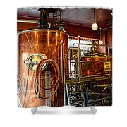 Beer - The Brew Kettle Shower Curtain by Paul Ward