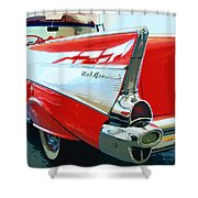 Bel Air Palm Springs Shower Curtain by William Dey