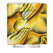 Belief Shower Curtain by Leon Zernitsky