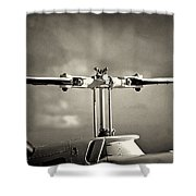 Bell Rotor Shower Curtain by Patrick M Lynch