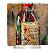Bella Vita Shower Curtain by Beverley Harper Tinsley