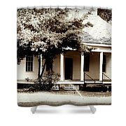 Bellavue Plantation  Shower Curtain by Debra Forand