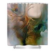 Beneath Shower Curtain by Carol Cavalaris