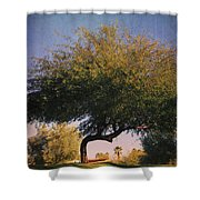 Bent But Not Broken Shower Curtain by Laurie Search