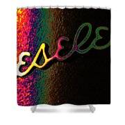Beseler Signature Shower Curtain by Richard Reeve