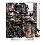 Bethlehem Steel Series Shower Curtain by Marcia Lee Jones