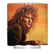 Bette Midler Shower Curtain by Paul Meijering