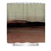 Between The Woods And Frozen Lake  Number 1133-10 Shower Curtain by Diane Strain