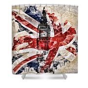 Big Ben Shower Curtain by Mo T