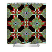 Big Elephant Abstract 20130201p0 Shower Curtain by Wingsdomain Art and Photography