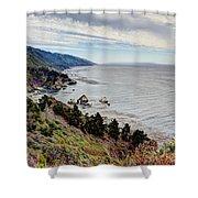 Big Sur Serenity  Shower Curtain by Heidi Smith