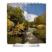Big Thompson River 2 Shower Curtain by Jon Burch Photography
