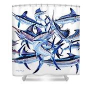 Bills Off0044 Shower Curtain by Carey Chen