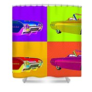 Bird Is The Word Shower Curtain by Richard Rizzo