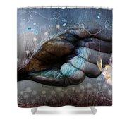 Birdie Paintress Shower Curtain by Barbara Orenya