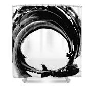 Black Magic 304 By Sharon Cummings Shower Curtain by Sharon Cummings