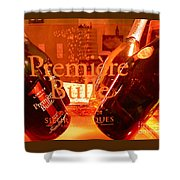 Cheers.. Shower Curtain by France  Art
