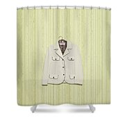Blazer Shower Curtain by Joana Kruse