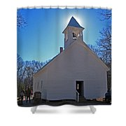 Blessings Shower Curtain by Skip Willits
