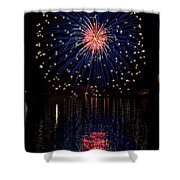 Blue Spectacular Shower Curtain by Bill Pevlor