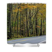 Blueridge Parkway Virginia Shower Curtain by Todd Hostetter