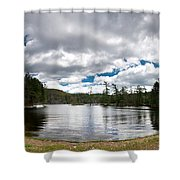 Bon Echo Lagoon Panorama Shower Curtain by Cale Best