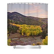 Bonanza Autumn View Shower Curtain by James BO  Insogna
