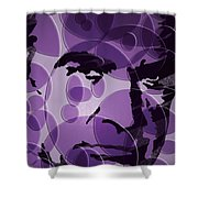 Bond Is Back Shower Curtain by Robert Margetts