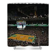 Boston Celtics Basketball Shower Curtain by Juergen Roth