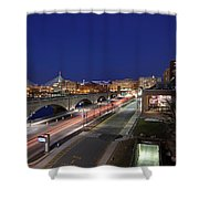 Boston Museum Of Science Shower Curtain by Juergen Roth