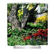 Botanical Landscape 2 Shower Curtain by Eunice Miller