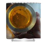 Bottom's Up Shower Curtain by Paulette B Wright