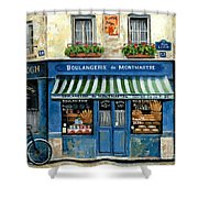 Boulangerie De Montmartre Shower Curtain by Marilyn Dunlap