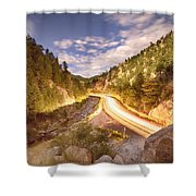 Boulder Canyon Dreamin Shower Curtain by James BO  Insogna