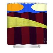 Bouncy Sunshine Shower Curtain by Patrick J Murphy