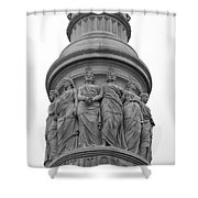 Bound By One Constitution Shower Curtain by Teresa Mucha
