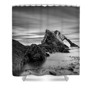 Bow Fiddle Rock 1 Shower Curtain by Dave Bowman