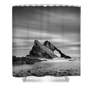 Bow Fiddle Rock 2 Shower Curtain by Dave Bowman