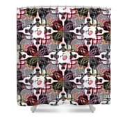 Boxer Abstract 20130126v4 Shower Curtain by Wingsdomain Art and Photography