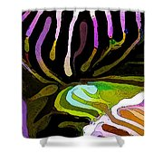 Brain Coral Abstract 1 Shower Curtain by Bill Caldwell -        ABeautifulSky Photography