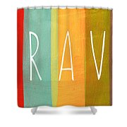 Brave Shower Curtain by Linda Woods