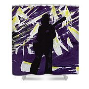 Breakdown Shower Curtain by Alys Caviness-Gober