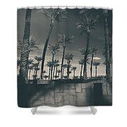 Breaking Down Walls Shower Curtain by Laurie Search