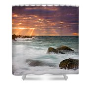 Breathtaking Shower Curtain by Mike  Dawson