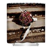 Bridal Bouquet Shower Curtain by Mountain Dreams