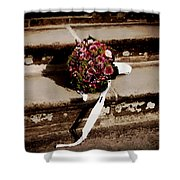 Bridal Bouquet Shower Curtain by Mountain Dreams