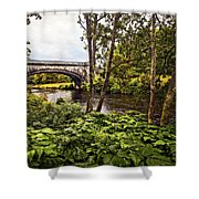 Bridge At Iveraray Castle Shower Curtain by Marcia Colelli