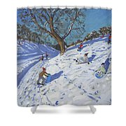 Bright Morning   Chatsworth Shower Curtain by Andrew Macara