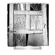 Broken Door Shower Curtain by Cheryl Young